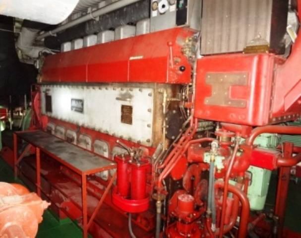 Marine Diesel Engines/Generators MAK for SALE