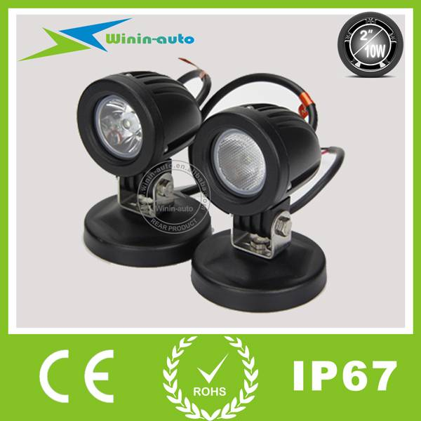 2 10W LED Auto Work Light off road ATVS 750 Lumen WI-2101