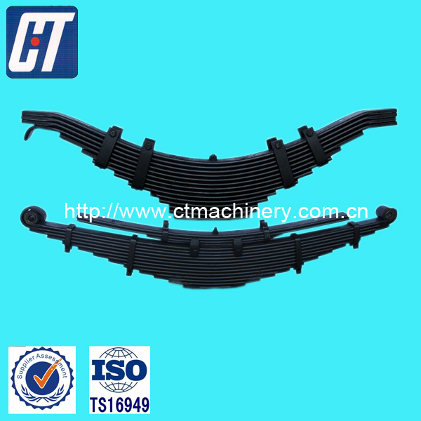 Trailer Suspension Part Leaf Spring with Customized Quality