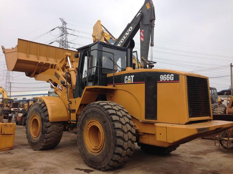 used wheel loader caterpillar 966g