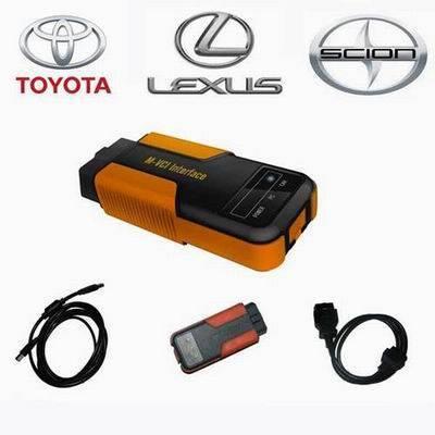 MVCI Toyota TIS+Honda HDS+Volvo DICE diagnostic tool