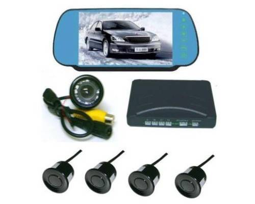 Parking System with 7 Inch Rear View Monitor and Camera