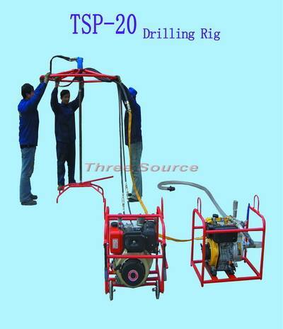 TSP-20 man portable drilling rig