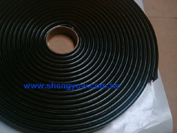 Foam core butyl tape or solid butyl tape