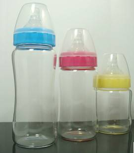 Baby Glass feeding-bottle