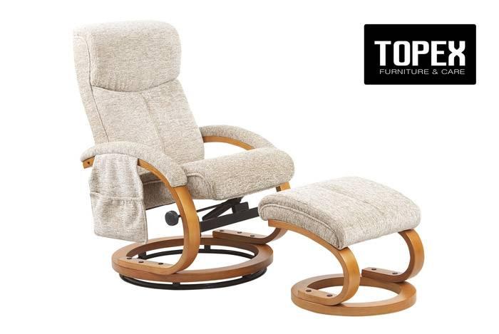 Top Design Fabric Swivel Chair