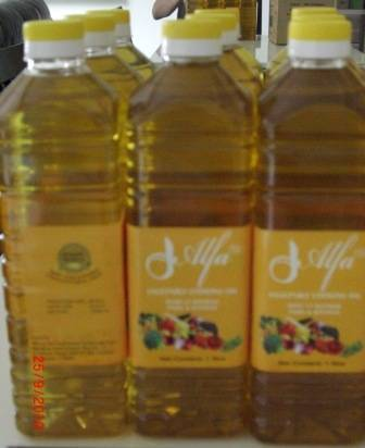 Alfa Brand vegetable oil