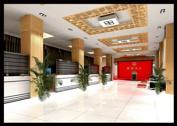 Wood Plastic composite hall decoration