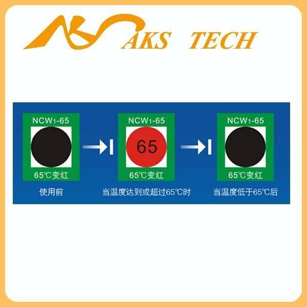 NCW Reversible Intelligent temperature monitor label