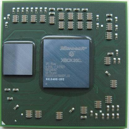 xbox 360 GPU 65nm and 90nm GPU