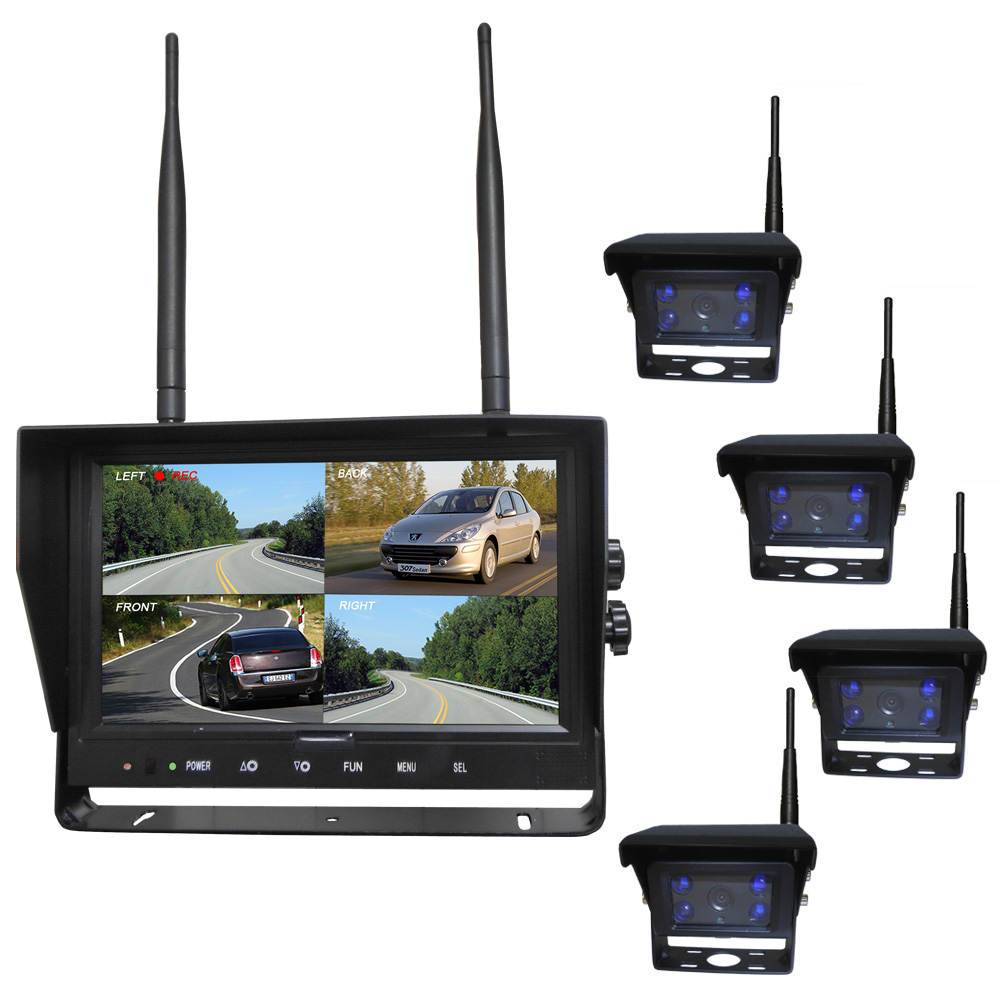 9 Inch Digital Wireless Rear View System