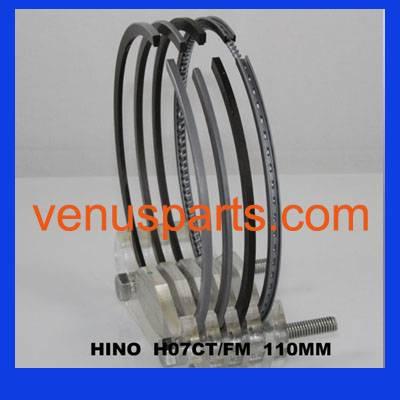 hino truck piston ring H07CT