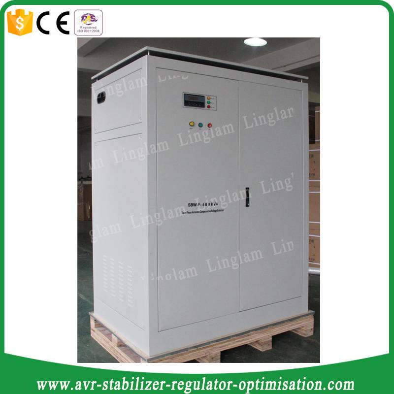 3-phase 400 kva industrial ac voltage regulator avr