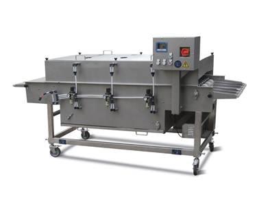Hamburger Nuggets Ice Water Coating Machine BYJ600-II
