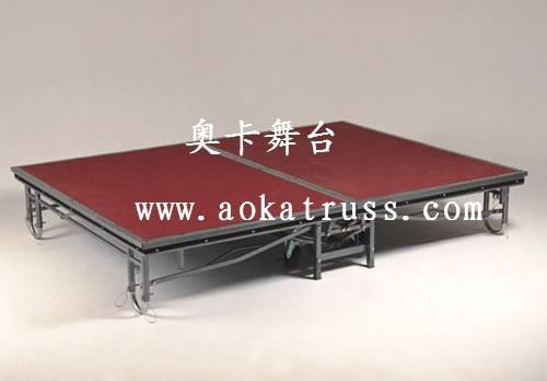 Supply Hotel folding stage,Remrvable stage,