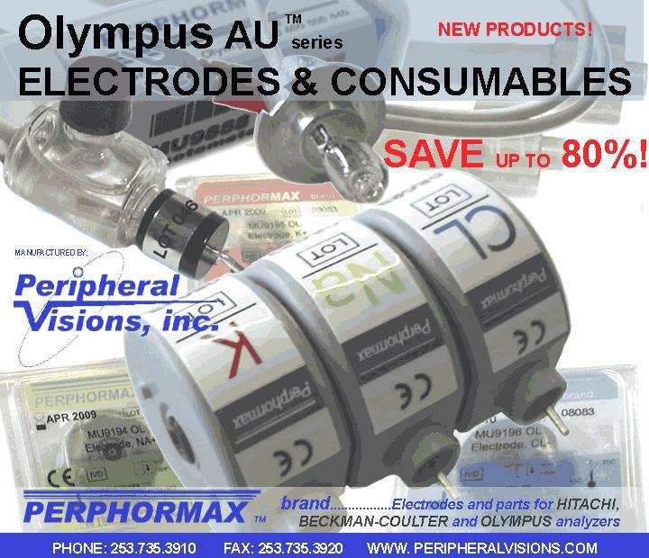 Olympus AU Analyzer Electrodes