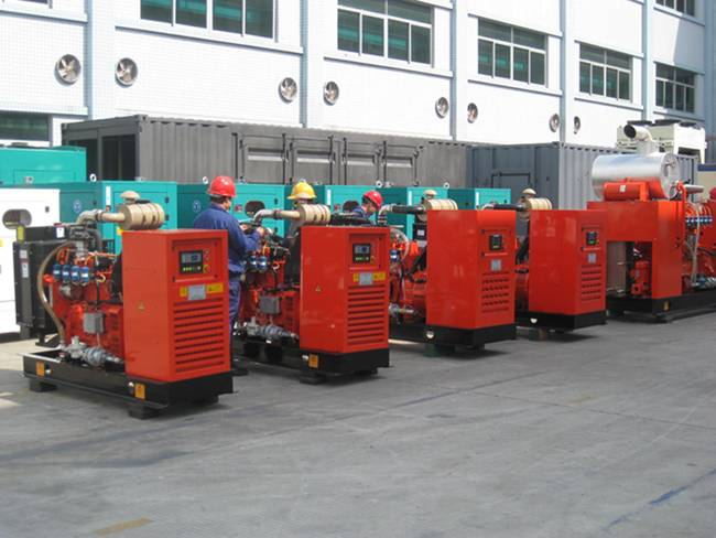 25KW H series Gas Generator sets( open-frame)