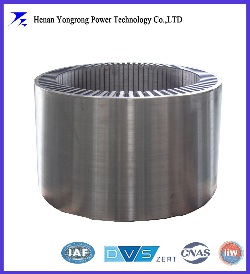 asynchronous motor stator and rotor laminated core