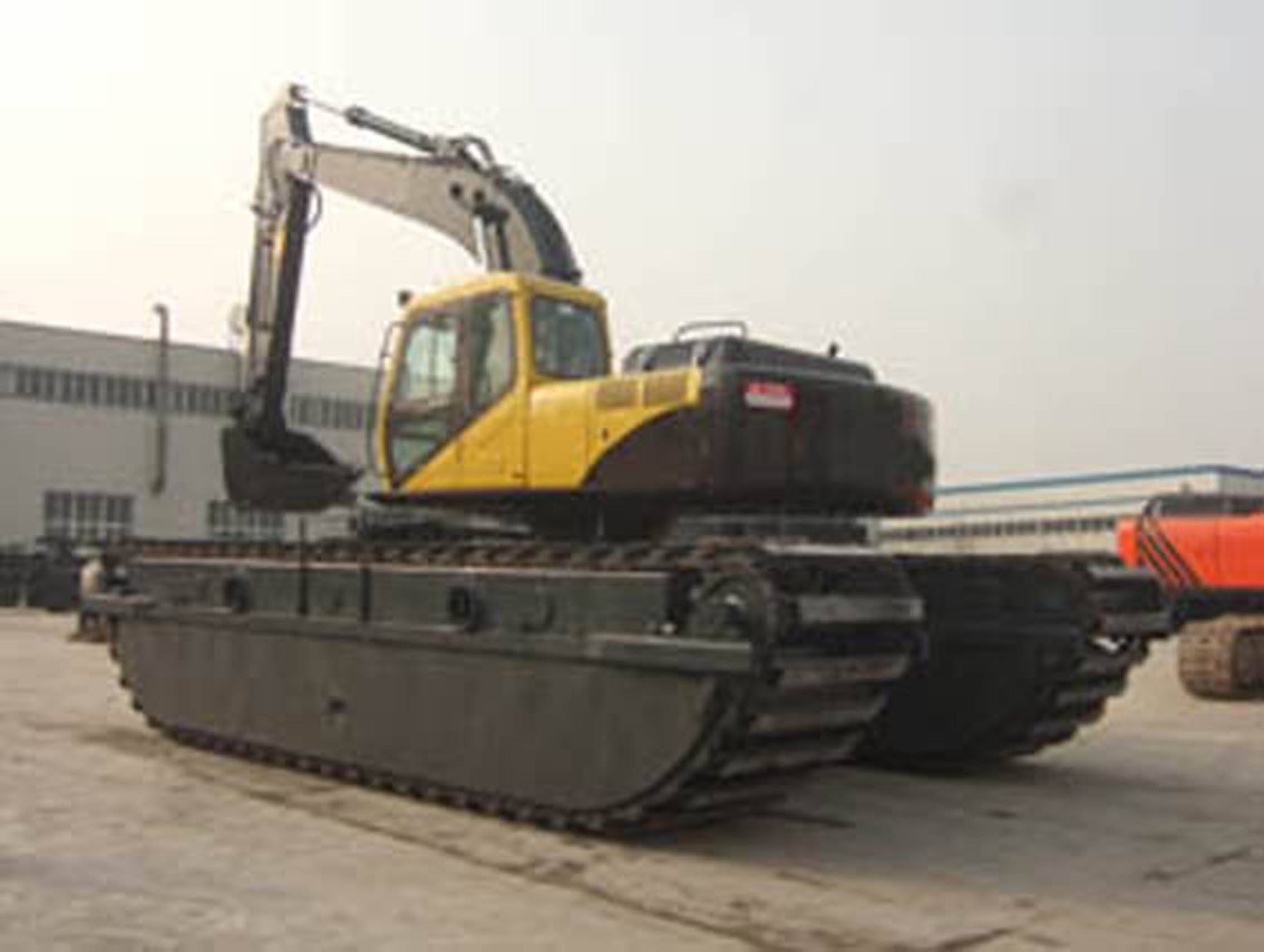 21tons Amphibious Excavator, AE210SD-2, -3, -4