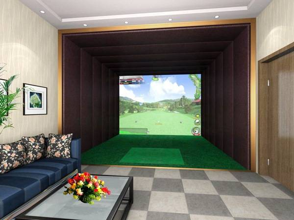 Gopar 3D graphics golf simulator