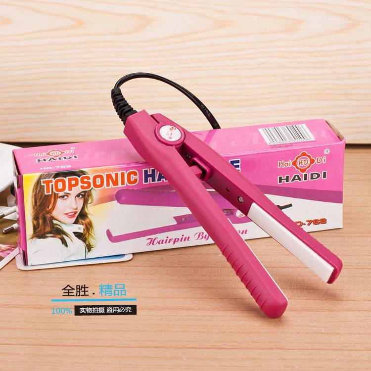 MINI ceramic hair straightener