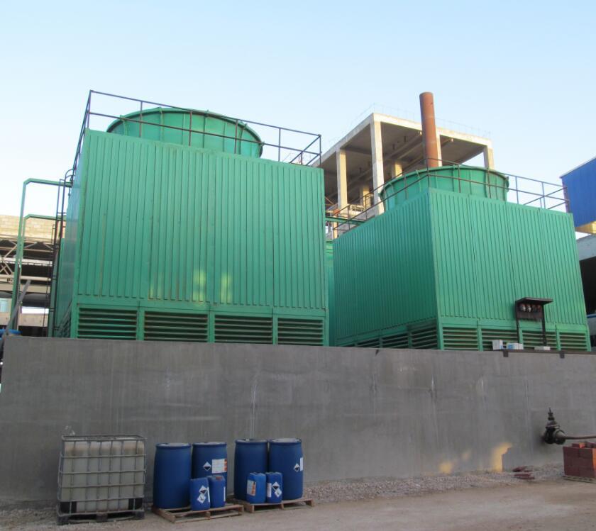 Cooling tower for fertilizer plant