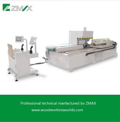 Wood sawing machine ZAMX automatic reciprocate sawing machine MJ-400-2000A