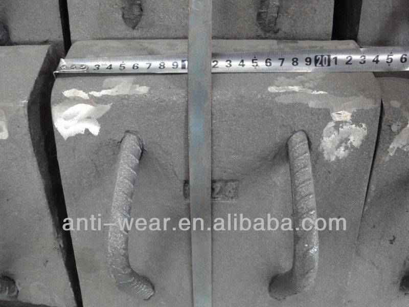 Cr-Mo Alloy Steel Composite Lifter Bars