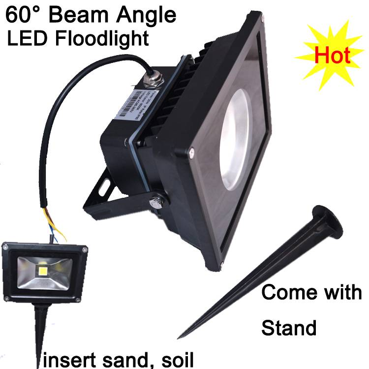 20W LED Flood Light High Lumen LED Flood Light Decorative LED Floodlight with Bracket