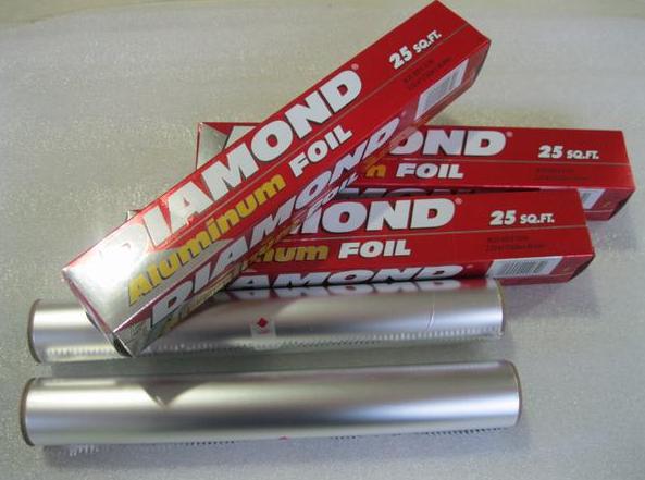 8011 Alloy heavy duty diamond fireproof aluminium foil