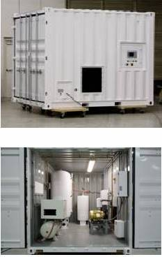 Container / containerized reverse osmosis ro seawater desalination for boat for sale