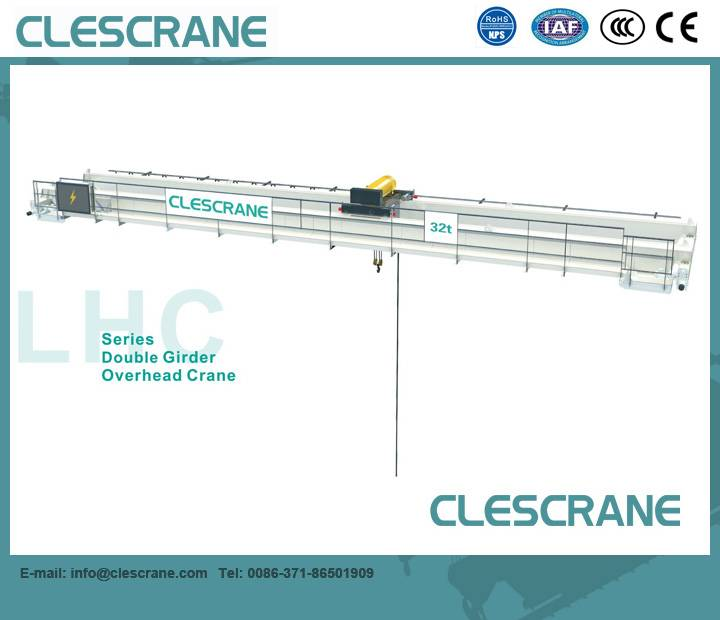 LHC Series China Top Industry Crane Brand Double Electric Hoist Overhead Crane(CD/MD Hoist)