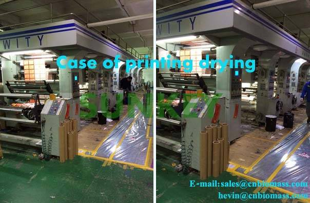 SUNKEY high quality automatic hot blast furnace for printing