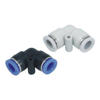 pneumatic elbow quick coupling fitting connector