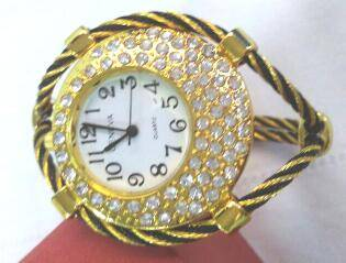 trendy wire cable watches