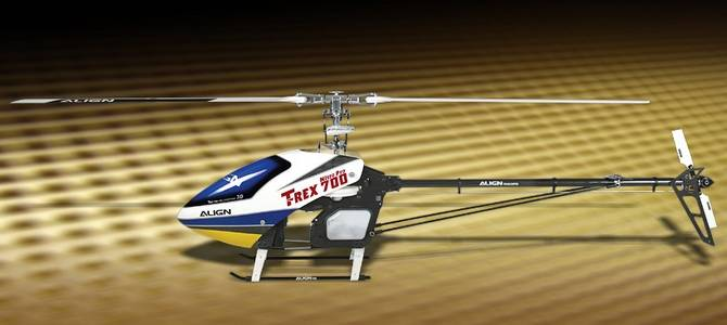 ALIGN T-REX 700 Nitro Limited Edition RC Helicopter