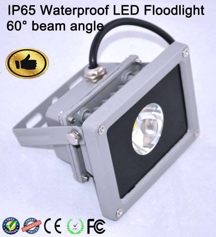 Waterproof Ip65 LED Floodlight Landscape 60 Degree Beam Angle Building Light CE ROHS