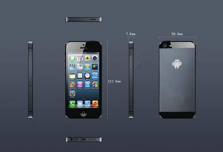 Smart phone I5 4.0,2.0MP AF+0.3MP,MTK6515 Android 4.0