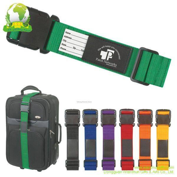 Selling Luggage Belt with Printing LOGO