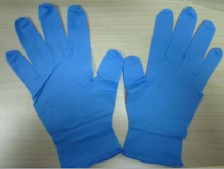 Disposable Blue Nitrile Glove
