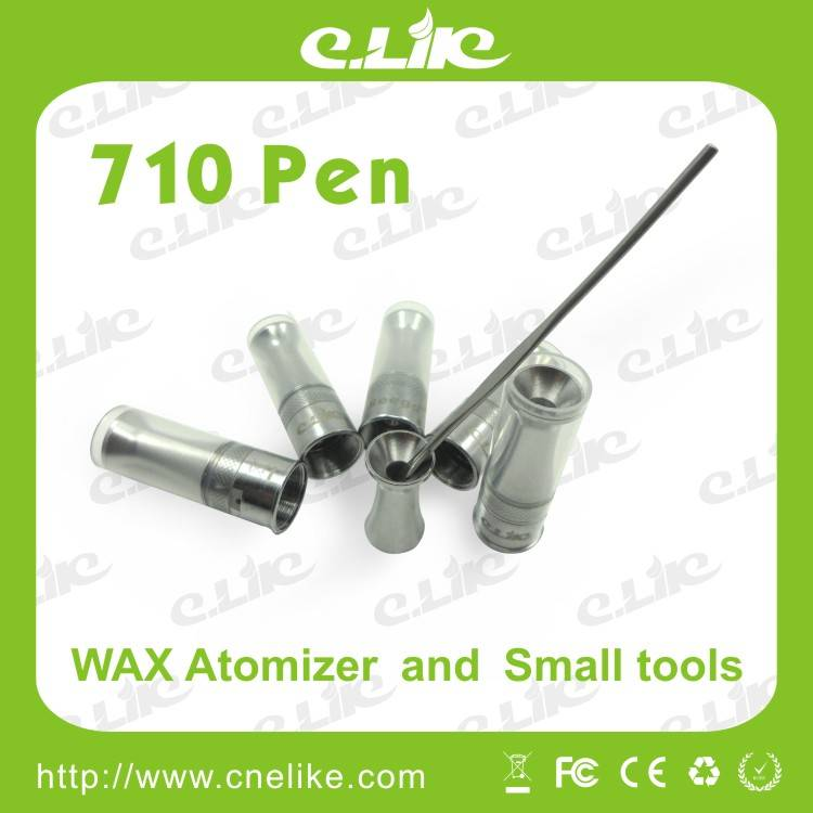 2013 Latest Design Super Eciga 710 Pen Wax Atomizer and Tools