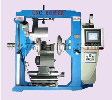 CNC tire buffing machine