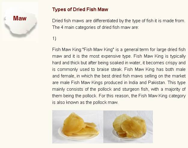 Fish Maw King