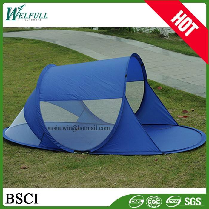 OEM one person Outdoor Design Cheap Pop Up Folding Beach Tent for Sale