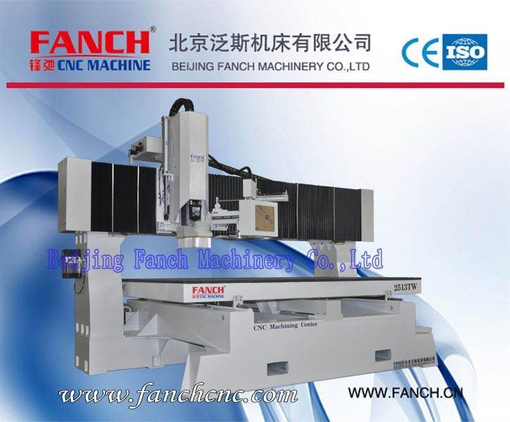 Offer Table Moving Machining Center Wood Cutting/Drilling/Milling Machine