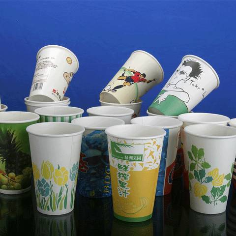 we can supply you PE coated cup paper