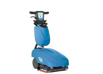 Portable automatic floor scrubber