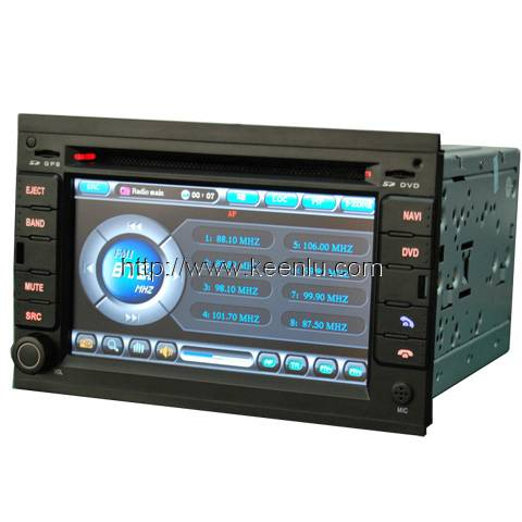 All-in-one Special Car DVD Player For Volkswagen Passat B5 / Golf IV / Bora / Polo