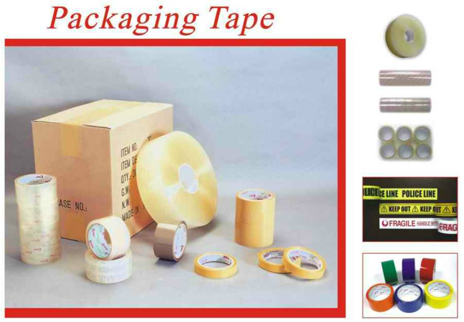 Water Based BOPP Adhesive Packaging Tape for Carton Sealing