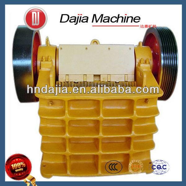 Diesel Engine Mineral Jaw Crusher, Stone Crushing Machine